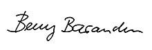 Unterschrift von Beny Barandun